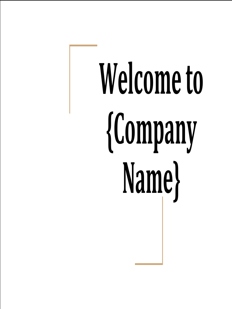 Fill, Edit and Print New employee on boarding deck Form