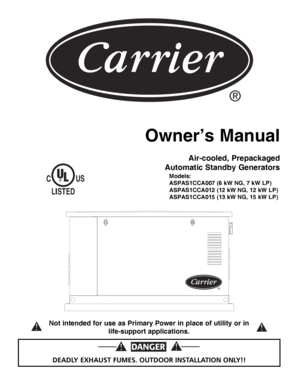 Fillable Online Automatic Standby Generators Fax Email
