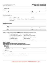new york state bureau of ems Forms and Templates ...