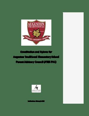 Fillable Online Parent Advisory Council (ATES PAC) Fax