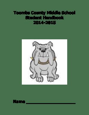 Fillable Online toombscountyschools BToombs Countyb Middle