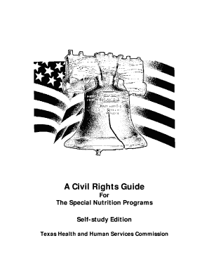 Editable texas department of agriculture civil rights