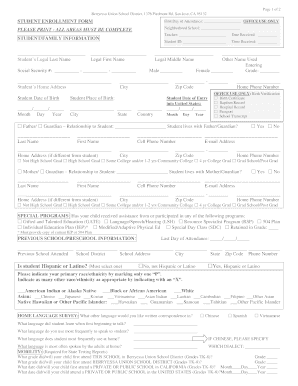 118 Printable Sample California Immunization Record Forms