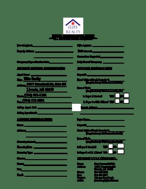 Fillable Online Elite Realty Livonia, MI 48150 (734) 513