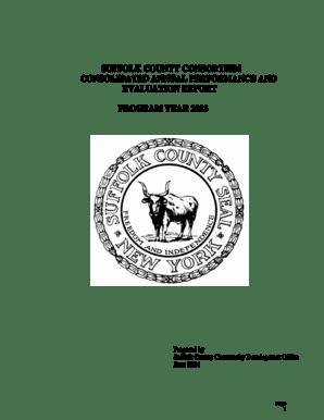 Fillable Online suffolkcountyny Suffolk county consortium