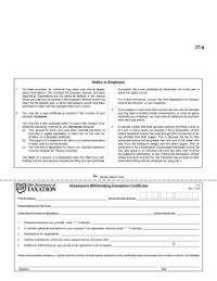 45 Printable State Tax Withholding Forms Templates ...