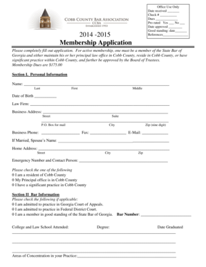 Fillable Online Download CCBA Membership Application