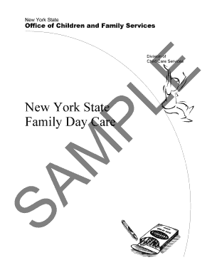 Fillable Online ocfs ny PDF Family Day Care Application