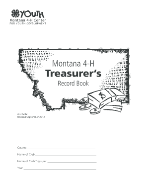 Fillable Online Treasurer's Handbook Fax Email Print