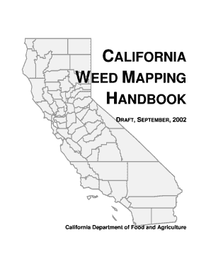 Fillable Online dmg California Weed Mapping Handbook