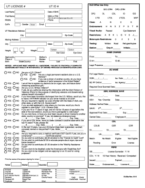 2015-2019 Form UT DLD6a Fill Online, Printable, Fillable