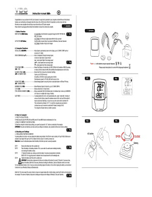 Fillable Online Instruction manual A8+ GB CYCLECOMPUTING