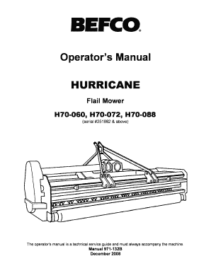 Fillable Online Hurricane H70 60 72 84 sn 251882 above
