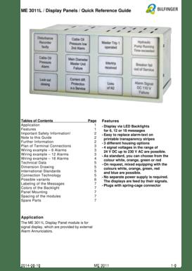 Fillable Online Short Description Compact Indicator