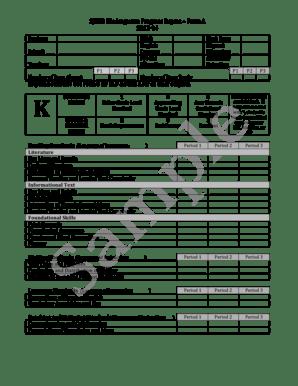 38 Printable School Progress Report Template Forms