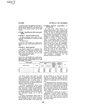 Fillable Online gpo 49 CFR Ch. I (10 1 02 Edition) 178.354