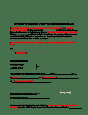 Bill Of Sale Form Oregon Affidavit Of Correction Survey