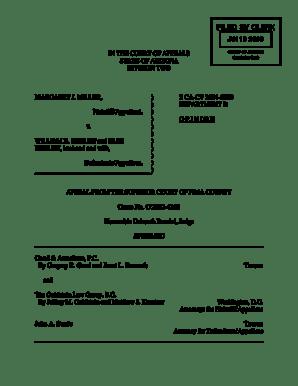 Fillable Online C WPDOCS PELANDER CIVIL Miller Opinion Fax