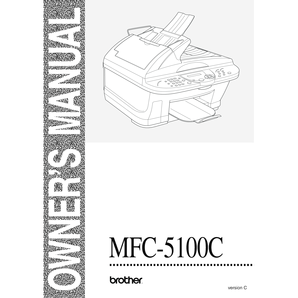 Fillable Online Using the Brother MFC-5100C Printer Driver