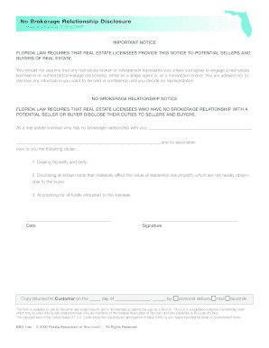 licensee disclosure of personal interest in property