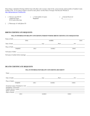 6 Printable birth certificate correction california Forms