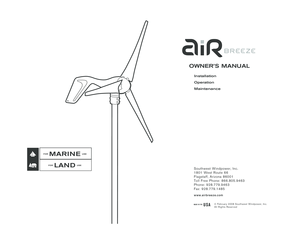 Fillable Online Air Breeze 24V Marine Wind Turbine