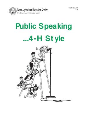 Printable public speaking self introduction speech