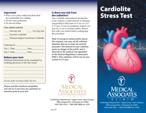 Fillable Online Cardiolite Stress Test Fax Email Print ...