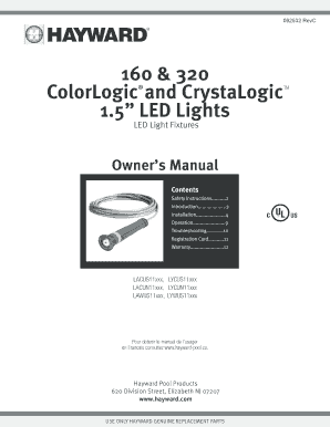 Fillable Online 160 amp 320 ColorLogic and CrystaLogic 15
