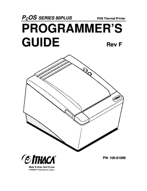 Fillable Online 100-01087F Mod 80PL Programmers Guidedoc