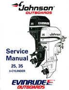 1995 Johnson/Evinrude Outboards 25, 35 3-Cylinder Service