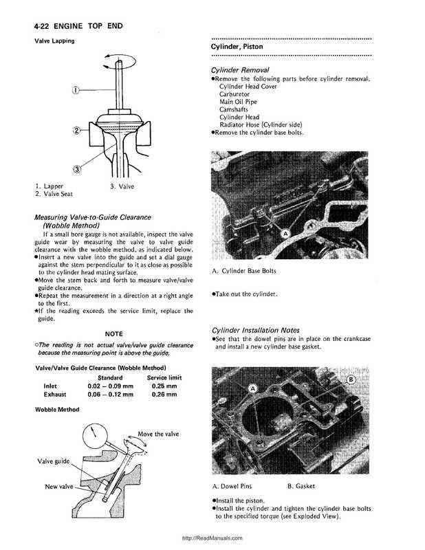 1987-2004 Kawasaki Mojave KSF250 Service Manual image 3