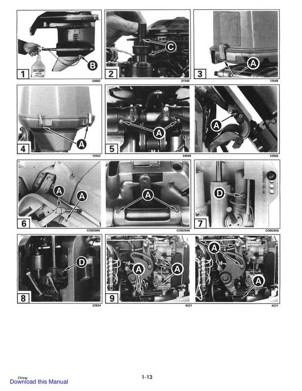 1997 Johnson Evinrude EU 90 thru 115 90 CV Service Manual