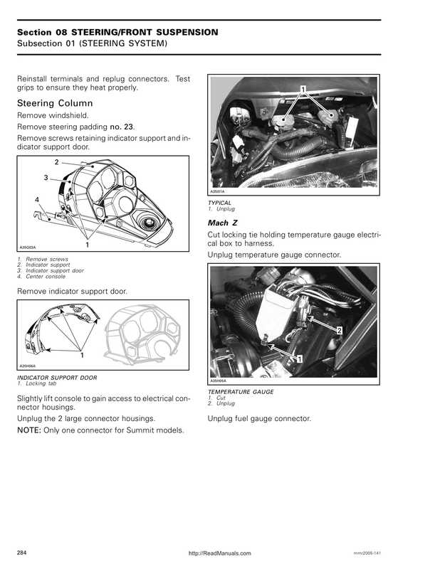 2005 Ski-Doo RT Series Shop Manual image 3 preview