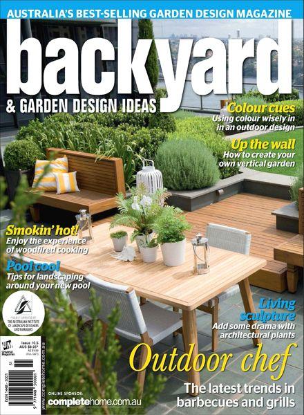Ideas for landscaping: Useful Backyard & garden design