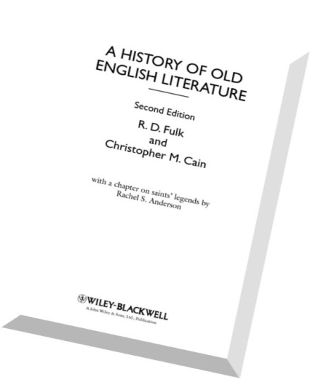 Download A History of Old English Literature (Blackwell