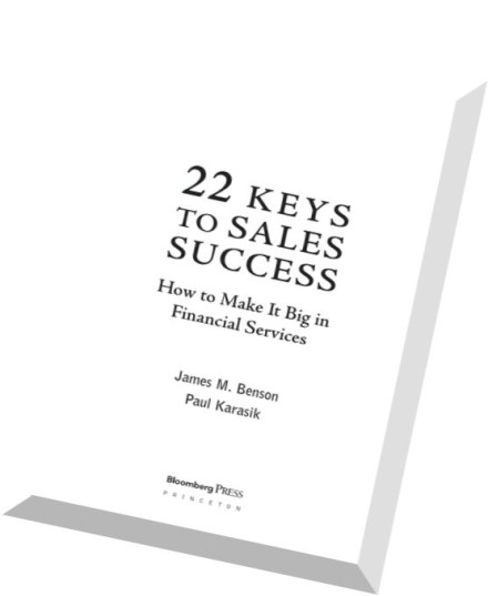 Download 22 Keys to Sales Success How to Make It Big in
