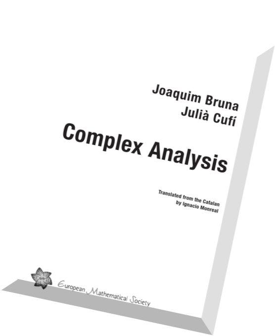 Download Complex Analysis (EMS Textbooks in Mathematics