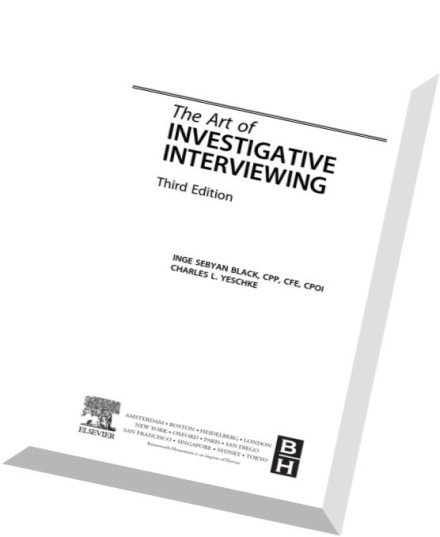 Download The Art of Investigative Interviewing, 3rd