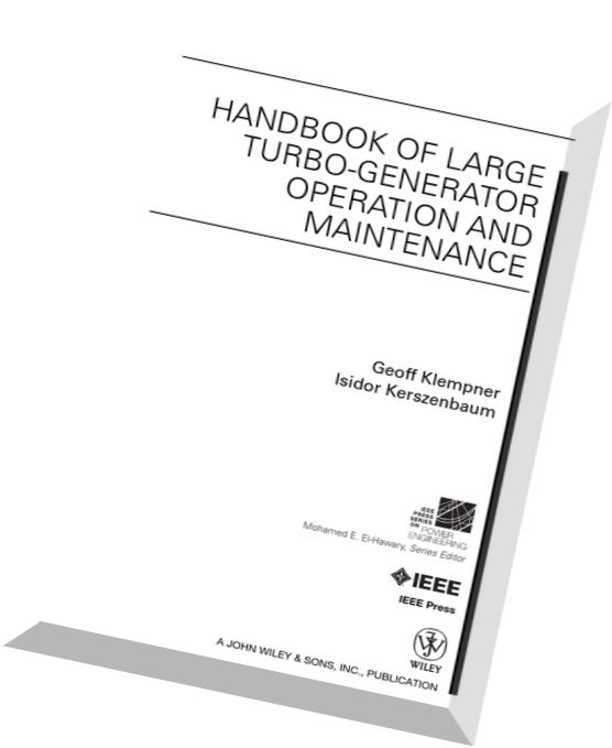 Download Handbook of Large Turbo-generator Operation and