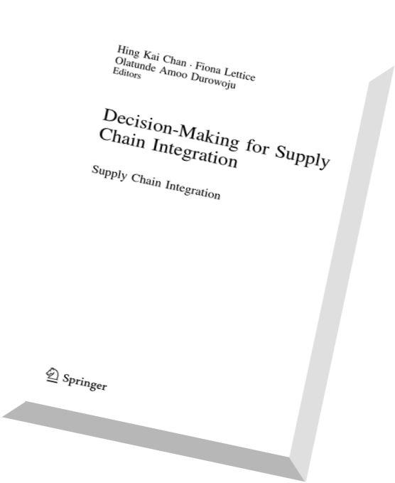 Download Decision-Making for Supply Chain Integration