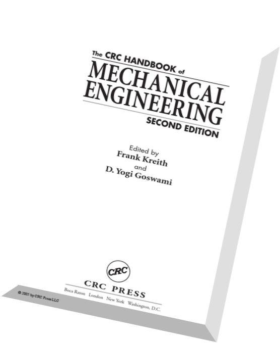 Download The Handbook of Mechanical Engineering (2nd