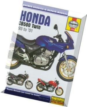 Download Honda CB500 Twin '93 to '01 (Haynes Service