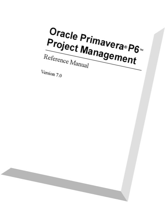 Download Primavera P6 7.0 Project Management Reference