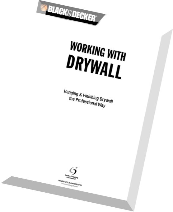 Download Black- Decker Working with Drywall Hanging
