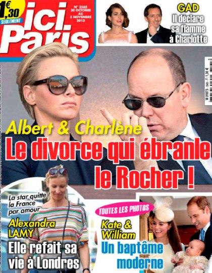 Ici Paris N°3565 du 30 Octobre au 5 Novembre 2013