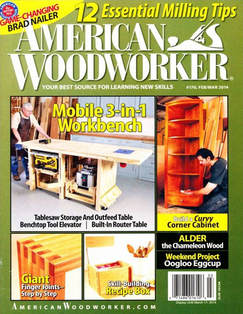 American Woodworker - February/March 2014