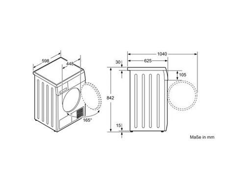 Manual Bosch WTE84101 (8 sider)