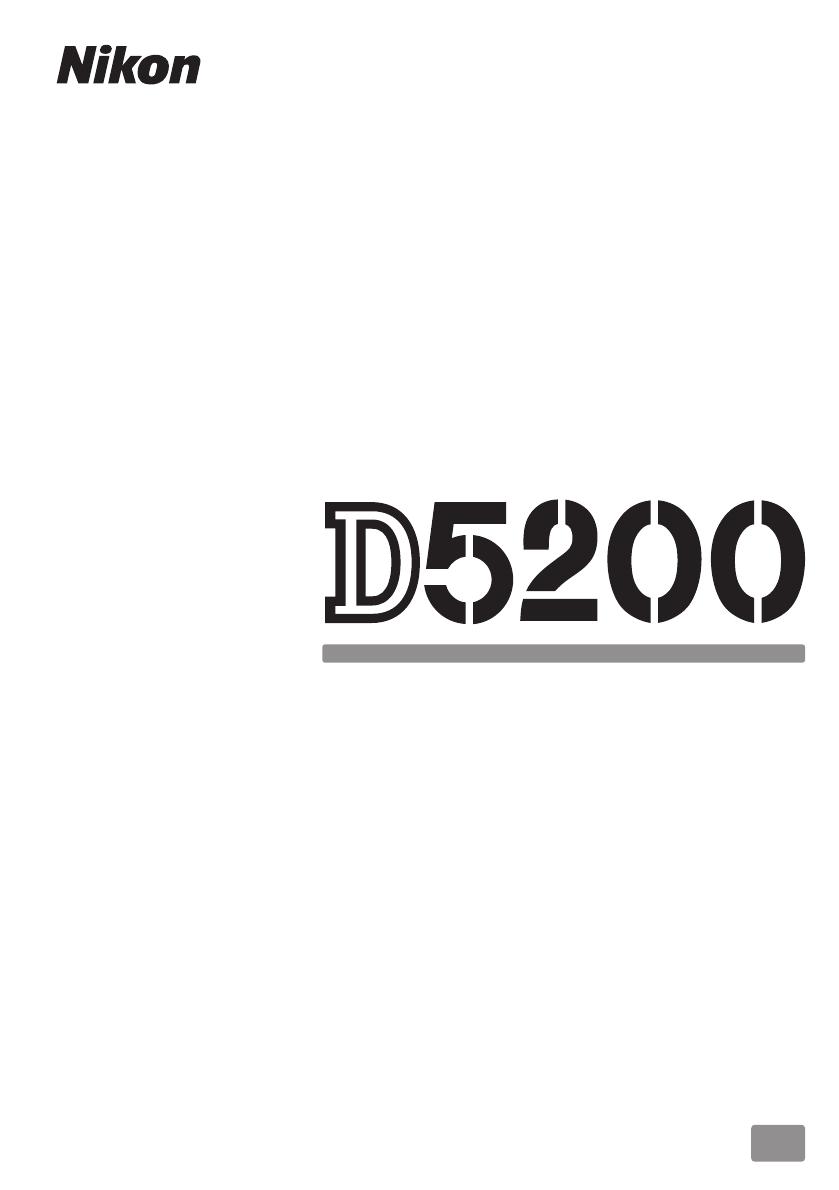 Manual Nikon D5200 (264 sider)