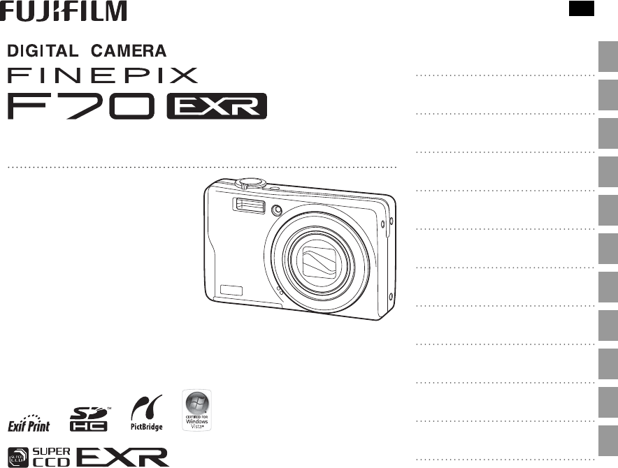 Manual Fujifilm FinePix F70EXR (125 sider)